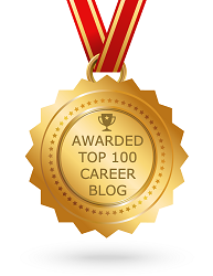 awarded top 100 career blog